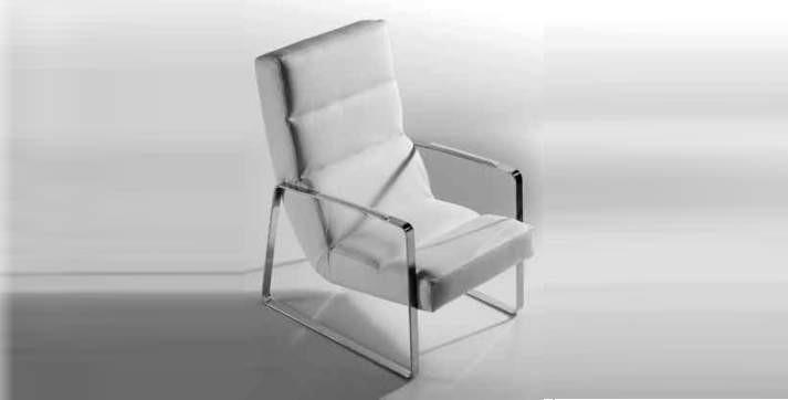 Airmchair white